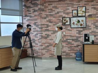 대전공공급식 홍보영상촬영 이미지